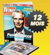 Abonnez vous à TV DVD Jaquettes pour 12 mois - hors UE, DOM et TOM