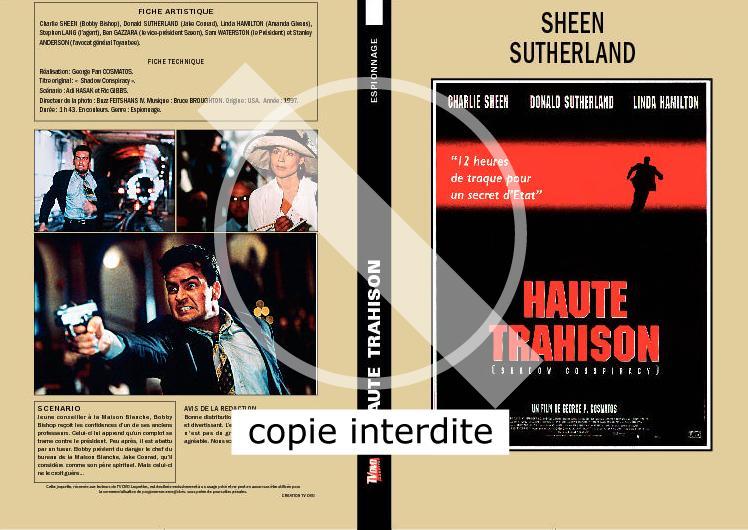 Haute trahison tv dvd jaquettes for Haute trahison